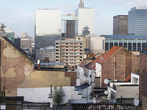 Brüssel Stadtansicht 2016