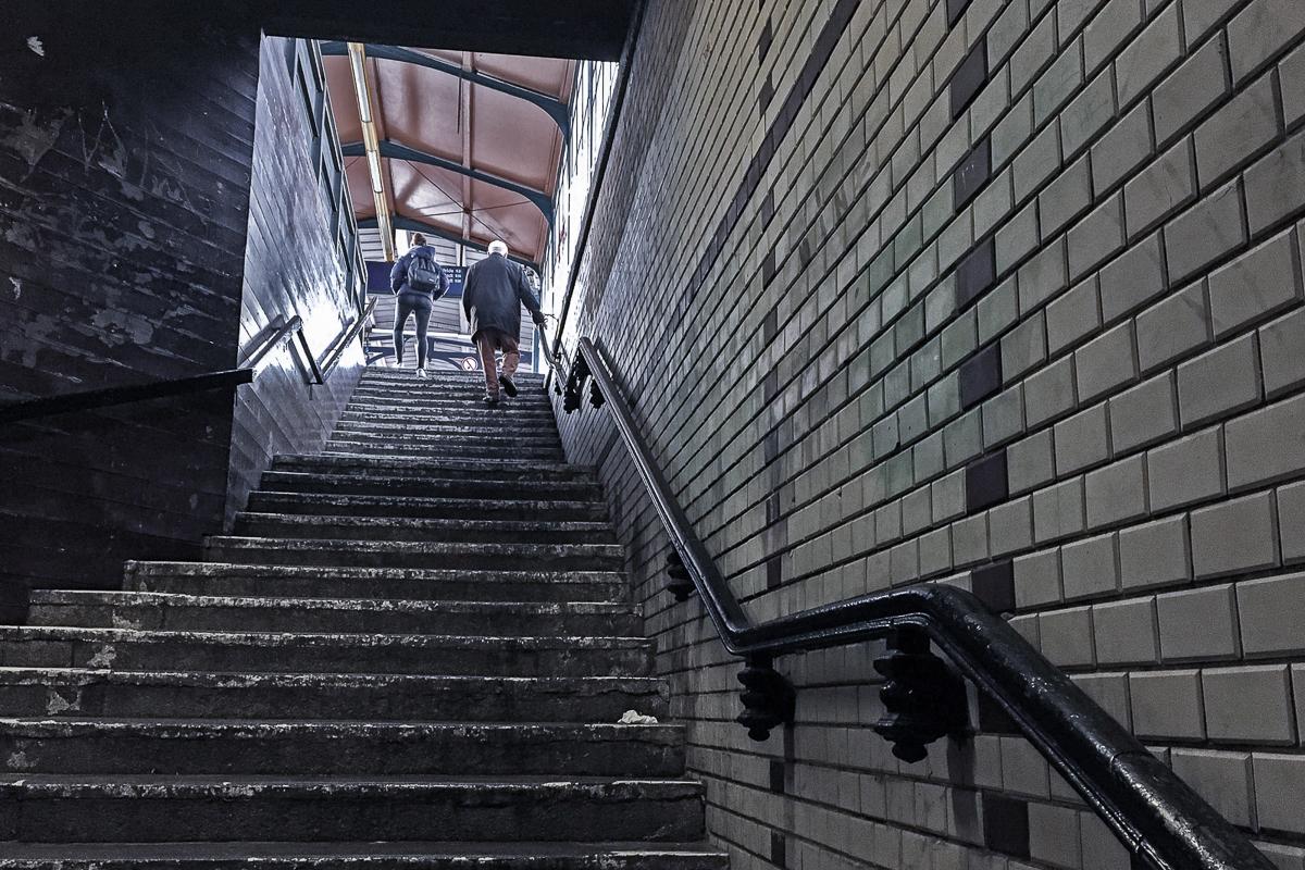Januar 2018 - S-Bahnhof Yorckstraße - Rolf Krane